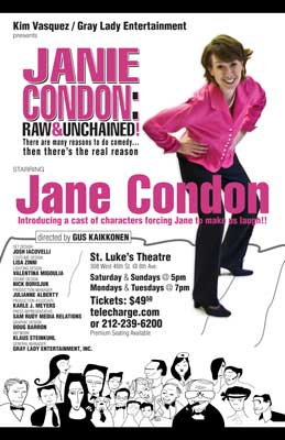 Jane Condon: Raw & Unchained